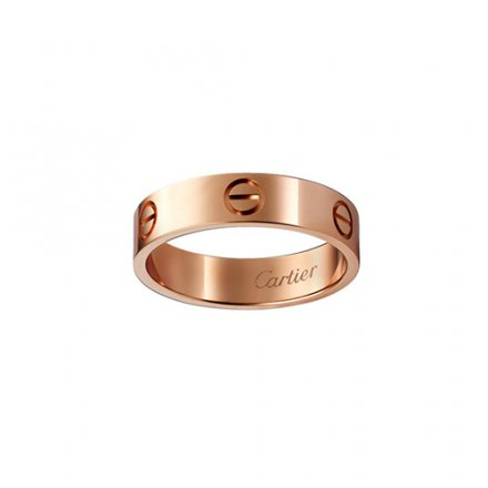 Kopie cartier love Rosa Gold Ring B4084800