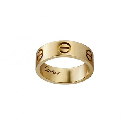 replica cartier love giallo oro anello B4084600