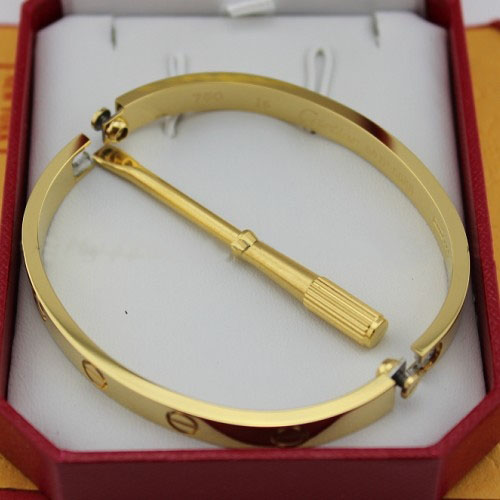 Replica Cartier Love Bracelet Yellow Gold with Screwdriver - Click Image to Close