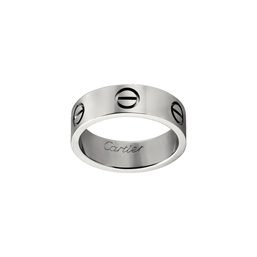 replika cartier love Weißes Gold Ring B4084700