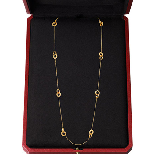 replica cartier Yellow gold love necklace B7216800 - Click Image to Close